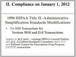 ii compliance on january 1 2012