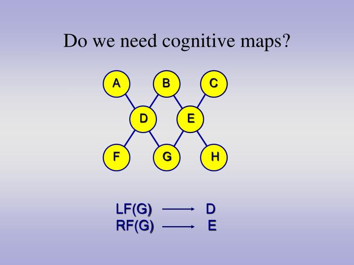 Do we need cognitive maps?