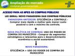 amplia o do mercado compras governamentais4
