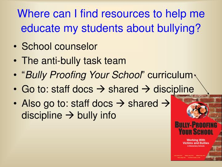 school counselors in the role of reducing bullying This year's theme, celebrate school counseling, focuses attention on the multiple roles school counselors are thrust in to help students from all ethnic, cultural and socioeconomic backgrounds reach their full potential, graduate from high school, and become productive, responsible adults.