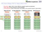 hp claims 8gbps fcp 1gbps iscsi but