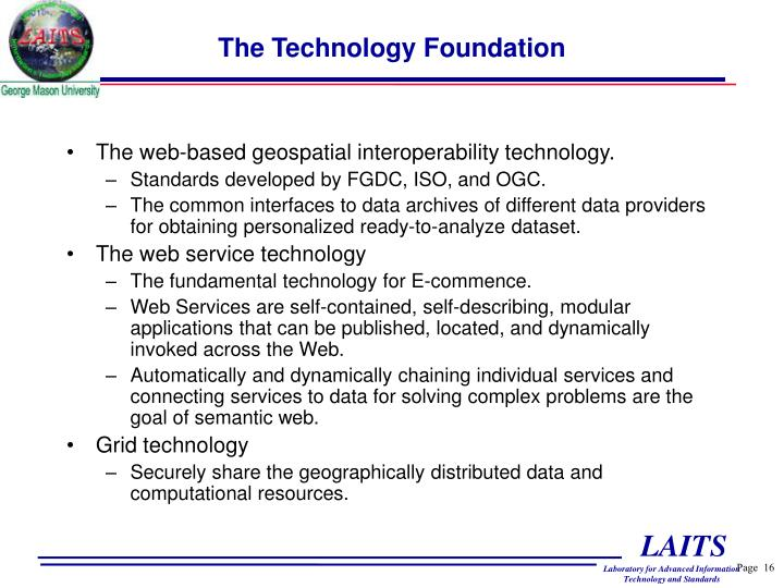 The Technology Foundation