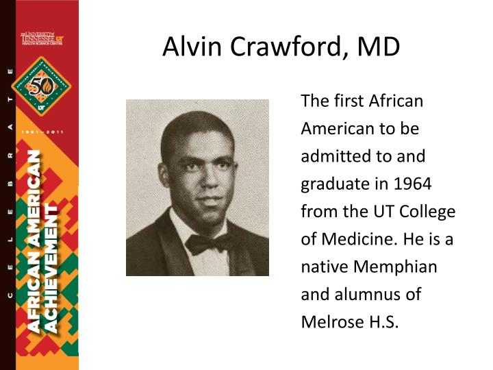 Alvin crawford md