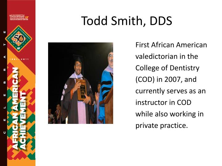 Todd Smith, DDS