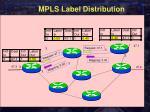 mpls label distribution