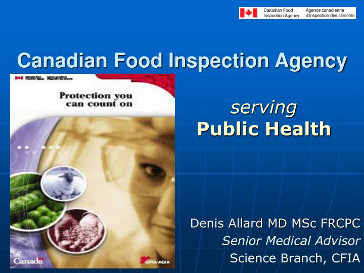 canadian food inspection agency n.