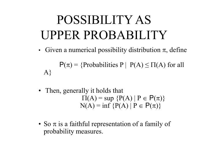 POSSIBILITY AS