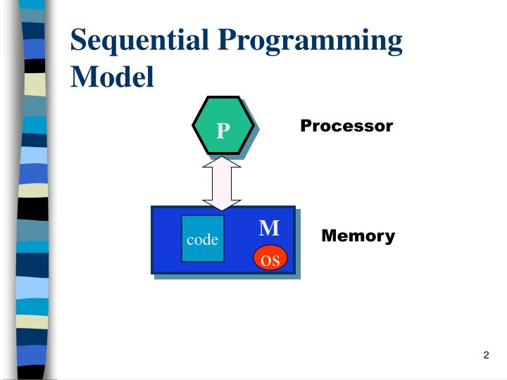 Sequential programming model