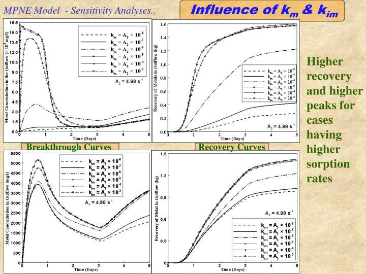 MPNE Model  - Sensitivity Analyses..