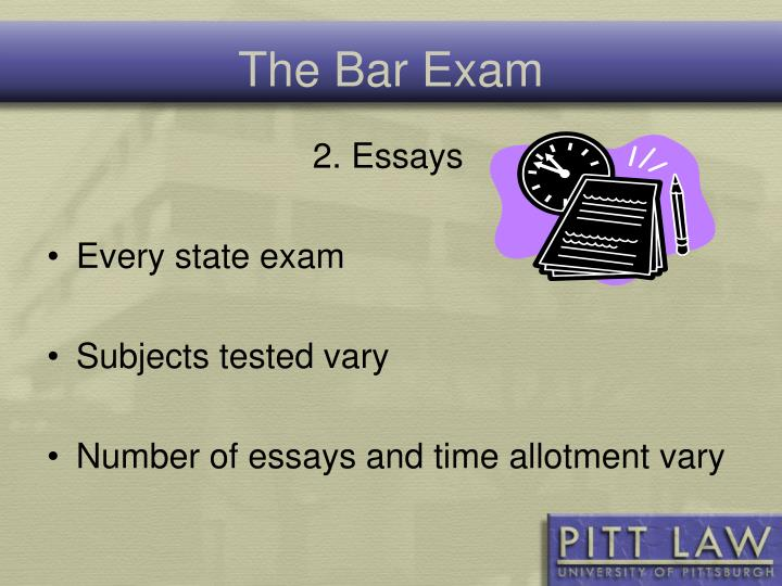 bar essay exam state Ohio bar examination bar examination laptop program the ohio board of bar examiners is permitting the use of laptop computers to answer the written (essay and mpt) portions of the july 2018 ohio bar examination.