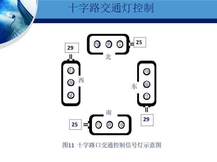 十字路交通灯控制