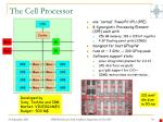 the cell processor