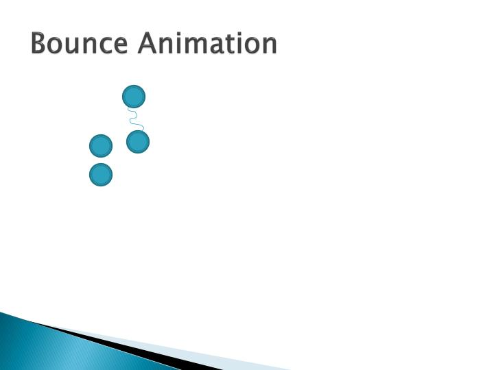 Bounce Animation