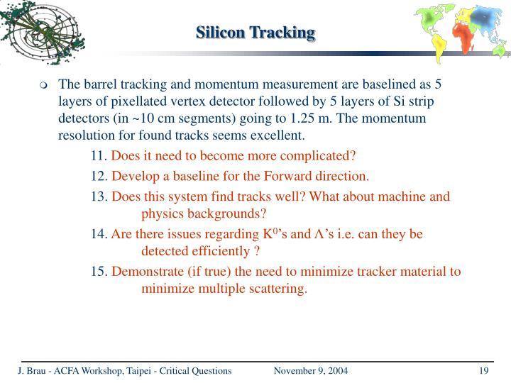 Silicon Tracking