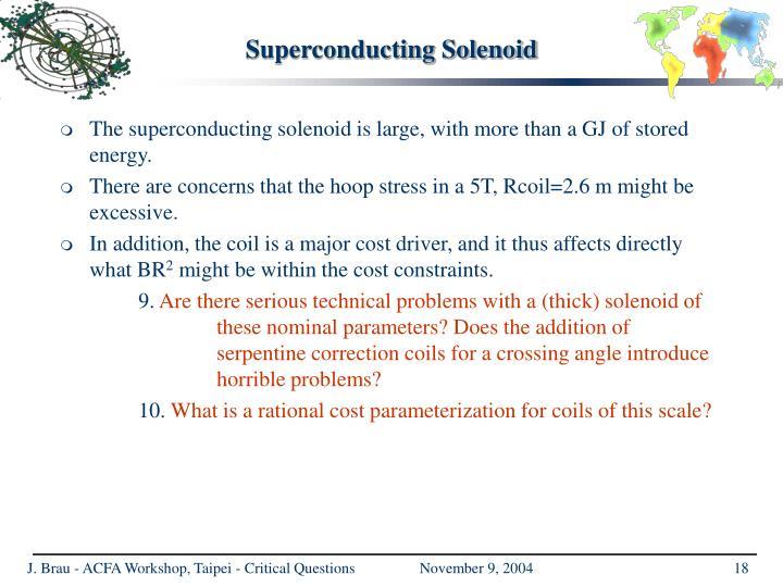 Superconducting Solenoid