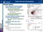data driven evaluation