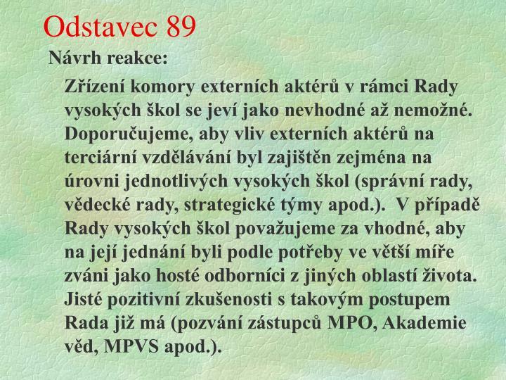 Odstavec 89
