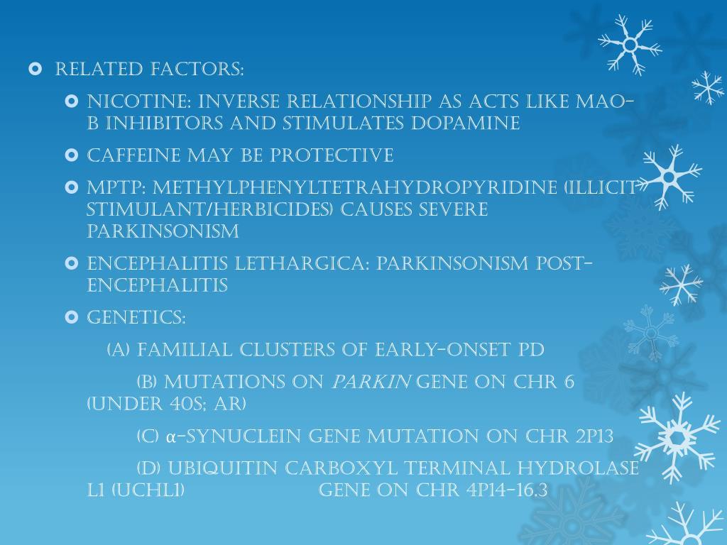 PPT - PARKINSON'S DISEASE PowerPoint Presentation - ID:4361871