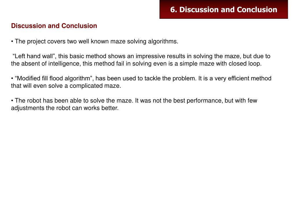 PPT - Algorithms for Maze Solving Robot PowerPoint