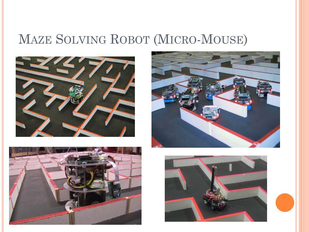 PPT - MAZE SOLVING ROBOT PowerPoint Presentation - ID:4361953
