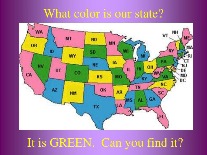 What color is our state?