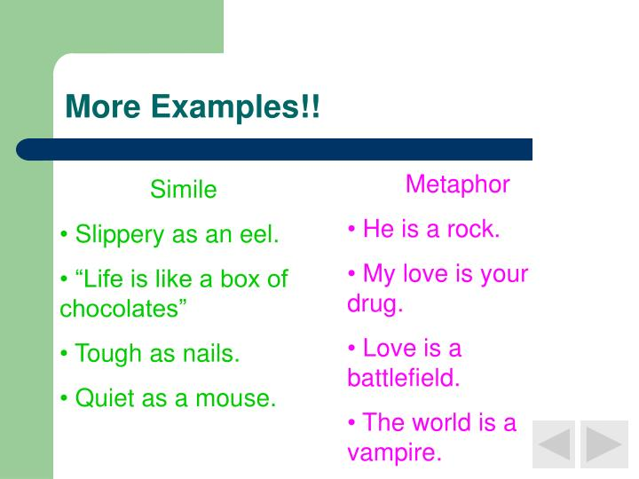 More Examples!!