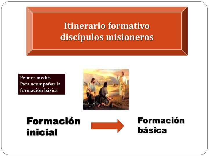 Itinerario formativo