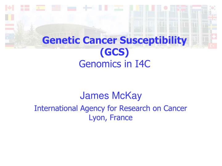 cancer genetic ppt