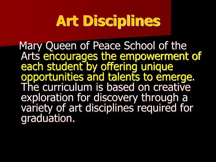 Art Disciplines