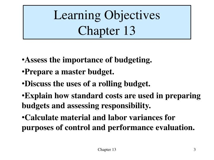purpose of budgeting in accounting