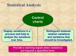 statistical analysis