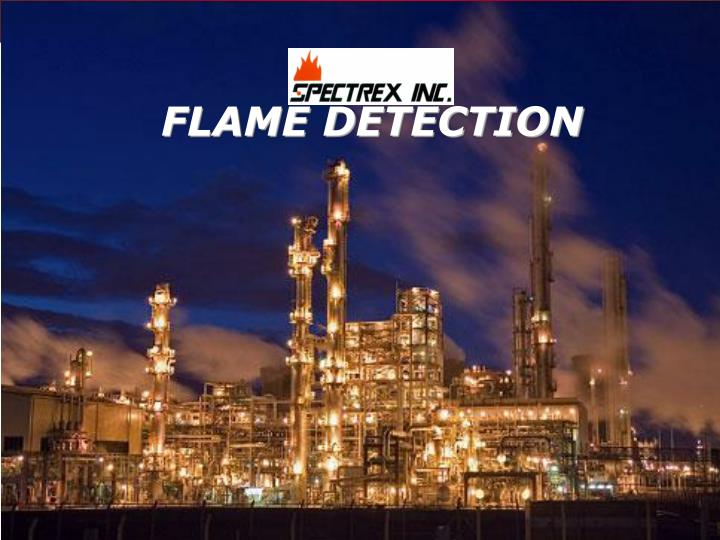 flame detection n.