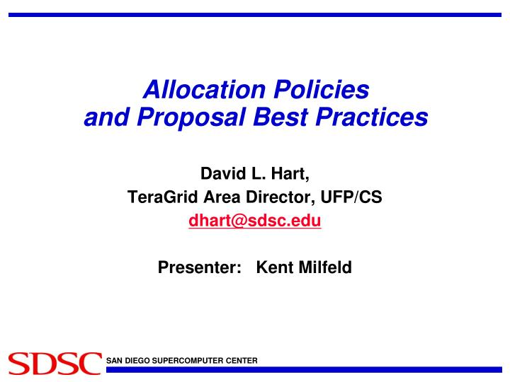 Ppt Allocation Policies And Proposal Best Practices Powerpoint