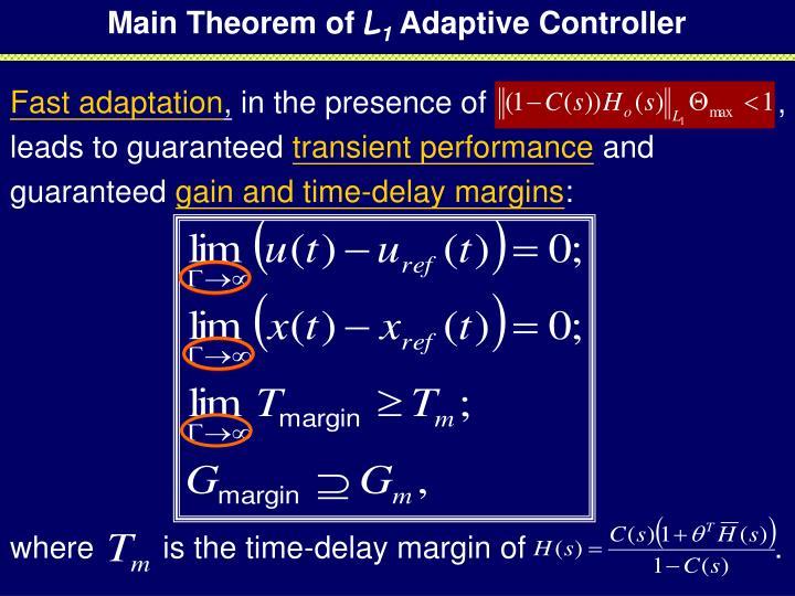Main Theorem of
