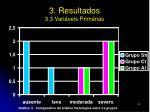 3 resultados 3 3 vari veis prim rias2