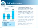 sme and corporates