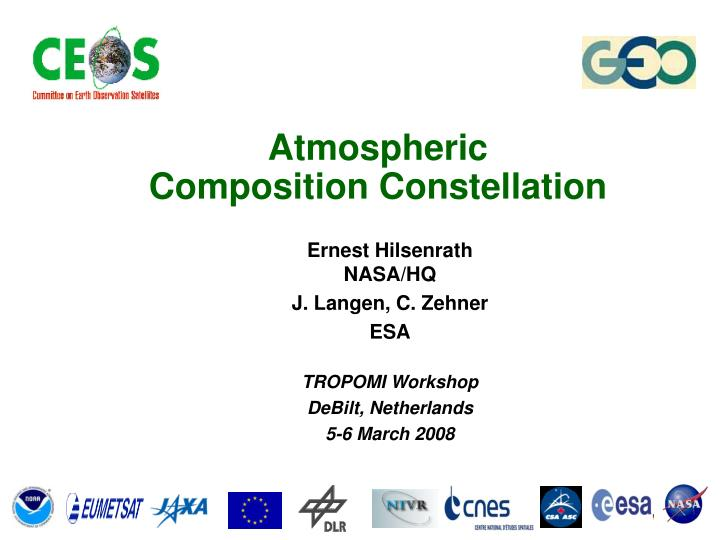 atmospheric composition constellation n.