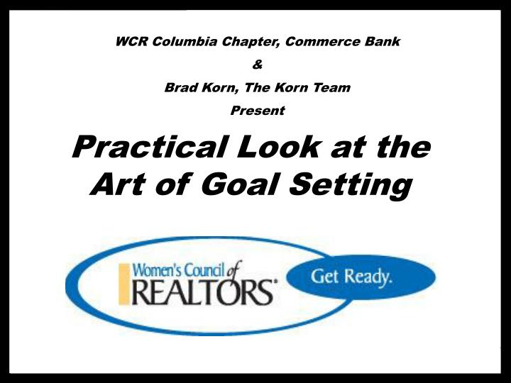 WCR Columbia Chapter, Commerce Bank
