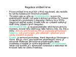 regulace sr en krve