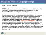 suggested protocol language change