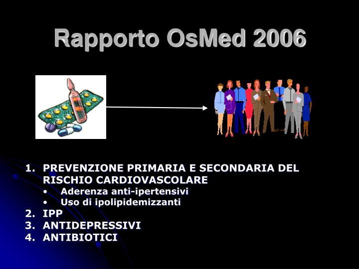 Rapporto OsMed 2006