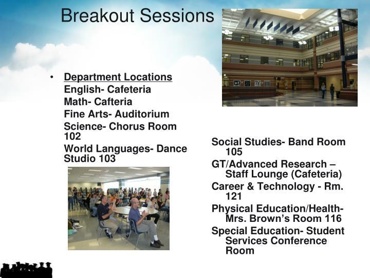 Department Locations