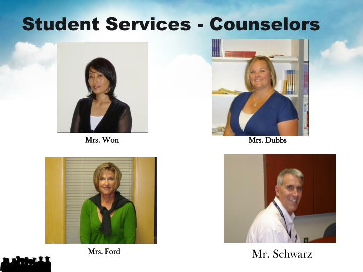 Student Services - Counselors