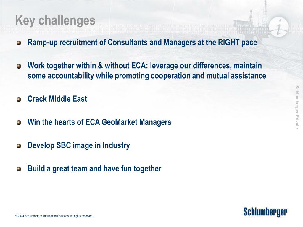PPT - Schlumberger Business Consulting Principals meeting