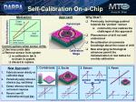self calibration on a chip