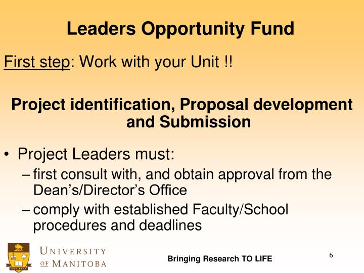 Leaders Opportunity Fund