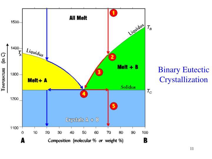 Binary Eutectic Crystallization