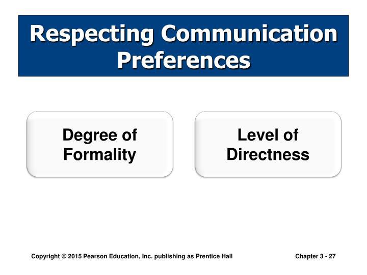 Level of Directness