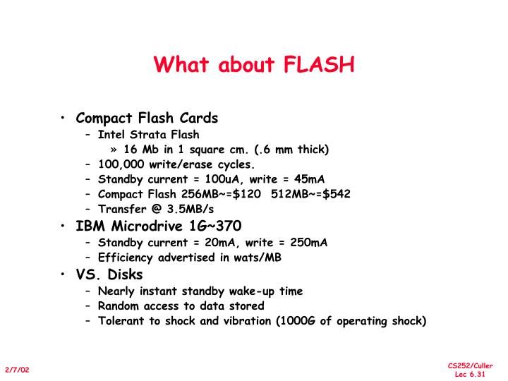 What about FLASH