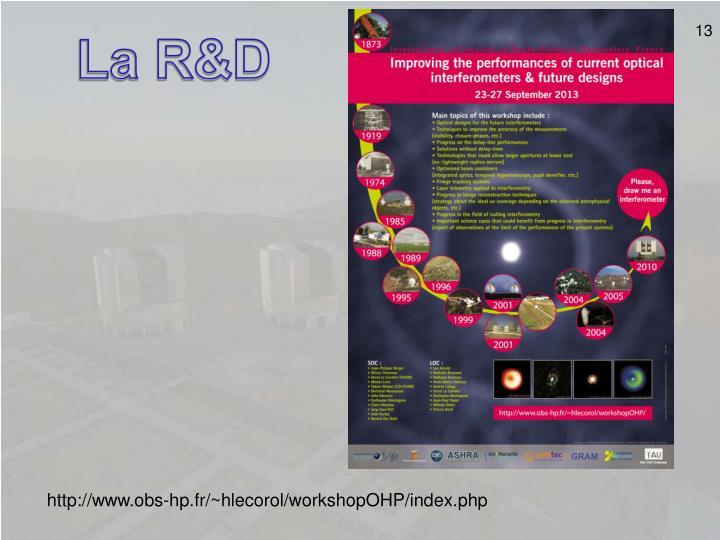 La R&D